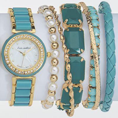 Watch/Bracelets Set