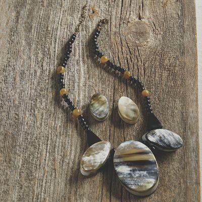 Tribal Necklace/Earrings Set
