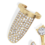 crystal fingertip ring