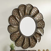 ethereal paisley mirror