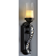 jeweled wall sconce 27