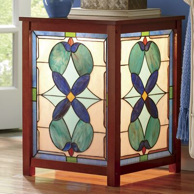 Stained Glass Side Table