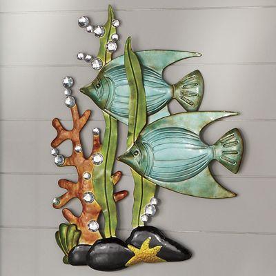 Under Water Metal Wall Art