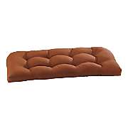 wicker settee cushion 44