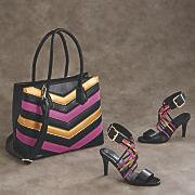 zakiya tote bag and sandal