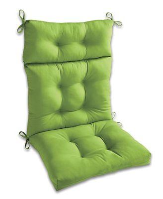 Outdoor Highback Chair Cushion