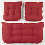 outdoor 3 pc  cushion set