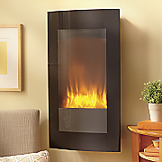 wall mount led fireplace with stand