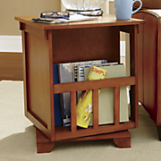 swivel end table