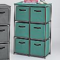 6-Drawer Fabric Storage Drawers