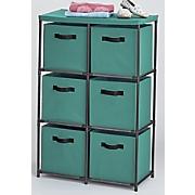 6 drawer fabric storage drawers
