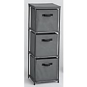 3 drawer fabric storage drawers