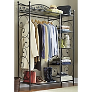 leaf scroll clothing storage