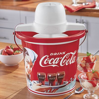 Coca-Cola 4-Qt. Ice Cream Maker
