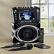 karaoke system with record function by karaoke usa