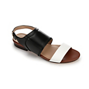 colorblock sandal by midnight velvet