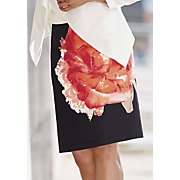 in full bloom pencil skirt