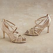 malala open toe mesh sandal