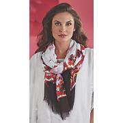 belissa floral scarf