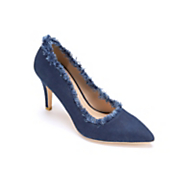 Denim Pump by Midnight Velvet