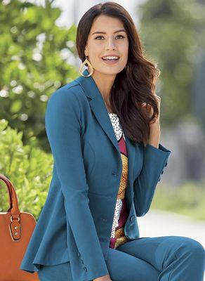 Marisa Peplum Jacket