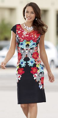 Meredith Floral Dress