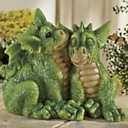 dragon babies statue