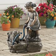 puppy play fountain