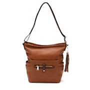 double side pockets hobo bag