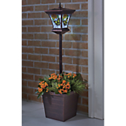 solar butterfly lantern planter