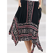 crinkle border skirt 6