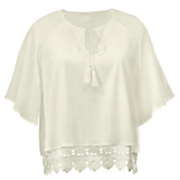 janelle gauze lace top