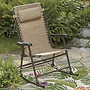 movin  and groovin  folding outdoor rocker