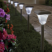 3 pc  solar stone light set