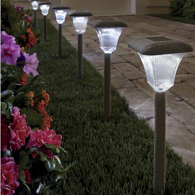 3-Piece Solar Stone Light Set