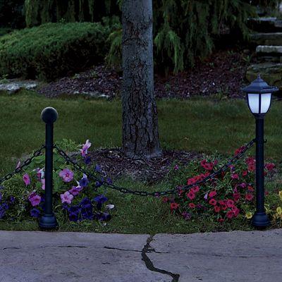 Solar Lantern Fence Post Sets
