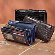croco fatty wallet