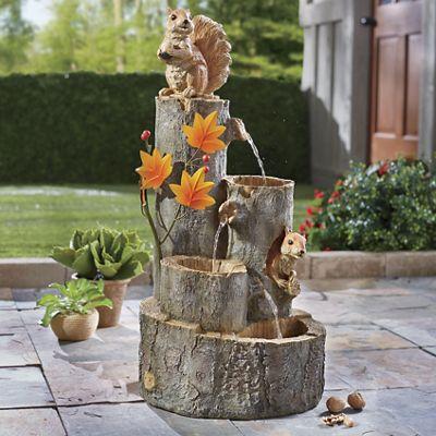 Squirrel Fountain