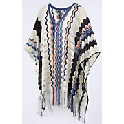 you zig  i ll zag sweater poncho