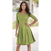 jackie jacquard knit dress