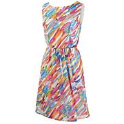 color splashed dress