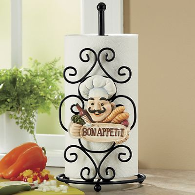 Chef Paper Towel Holder