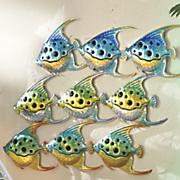 tropical fish wall decor
