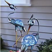 set of 2 solar cranes