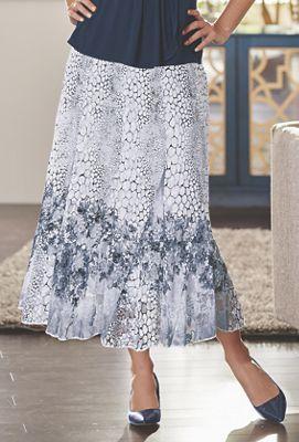 Pebble Lace Skirt