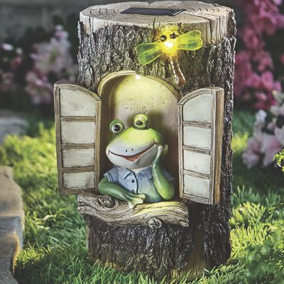 Frog Tree Stump House