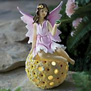 solar fairy flower ball