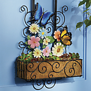 door flower basket