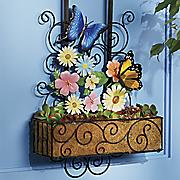 door flower basket