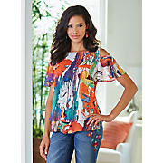 pop art blouse 110